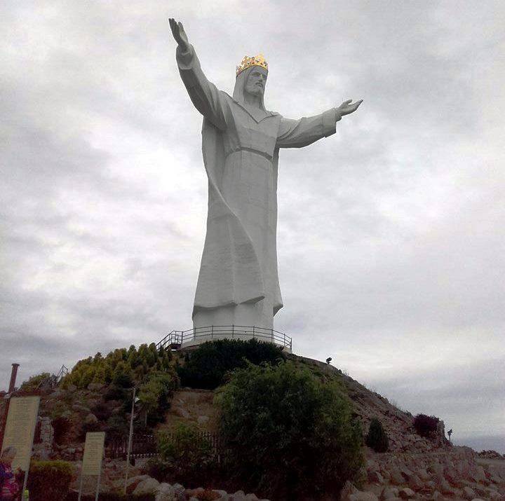 2017-09-05 Swiebodzin - Pomnik Chrystusa (1)