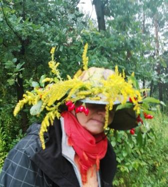 2017-09-23 Basia jak zwykle stworzyła jesienny kapelusz przecudnej urody