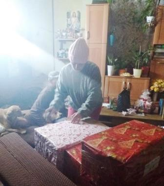 2017-12-09 dostarczenie szlachetnej paczki od sks i pkps Ursynow (2)