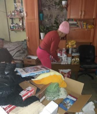 2017-12-09 dostarczenie szlachetnej paczki od sks i pkps Ursynow (6)