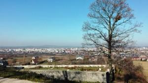 2018-11-07 Kielce - Karczówka widok na Kielce (1)