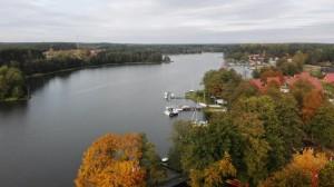 2019-10-17 widok z wieży na jez. wdzydzkie i Bory Tucholskie (1)