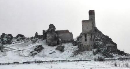 35 zamek w Olsztynie