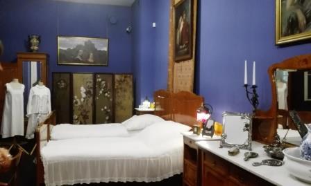 Muzeum - sypialnia