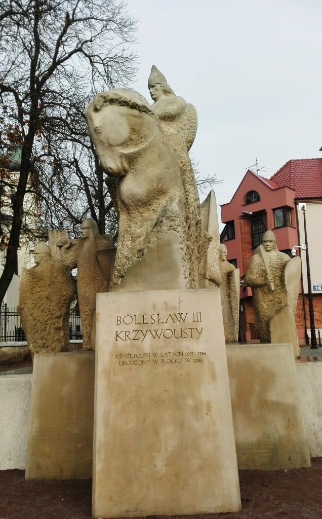 Pomnik - Bolesława Krzywoustego